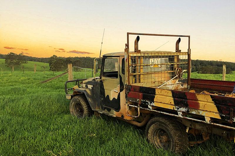 Australian Food Services organic farm